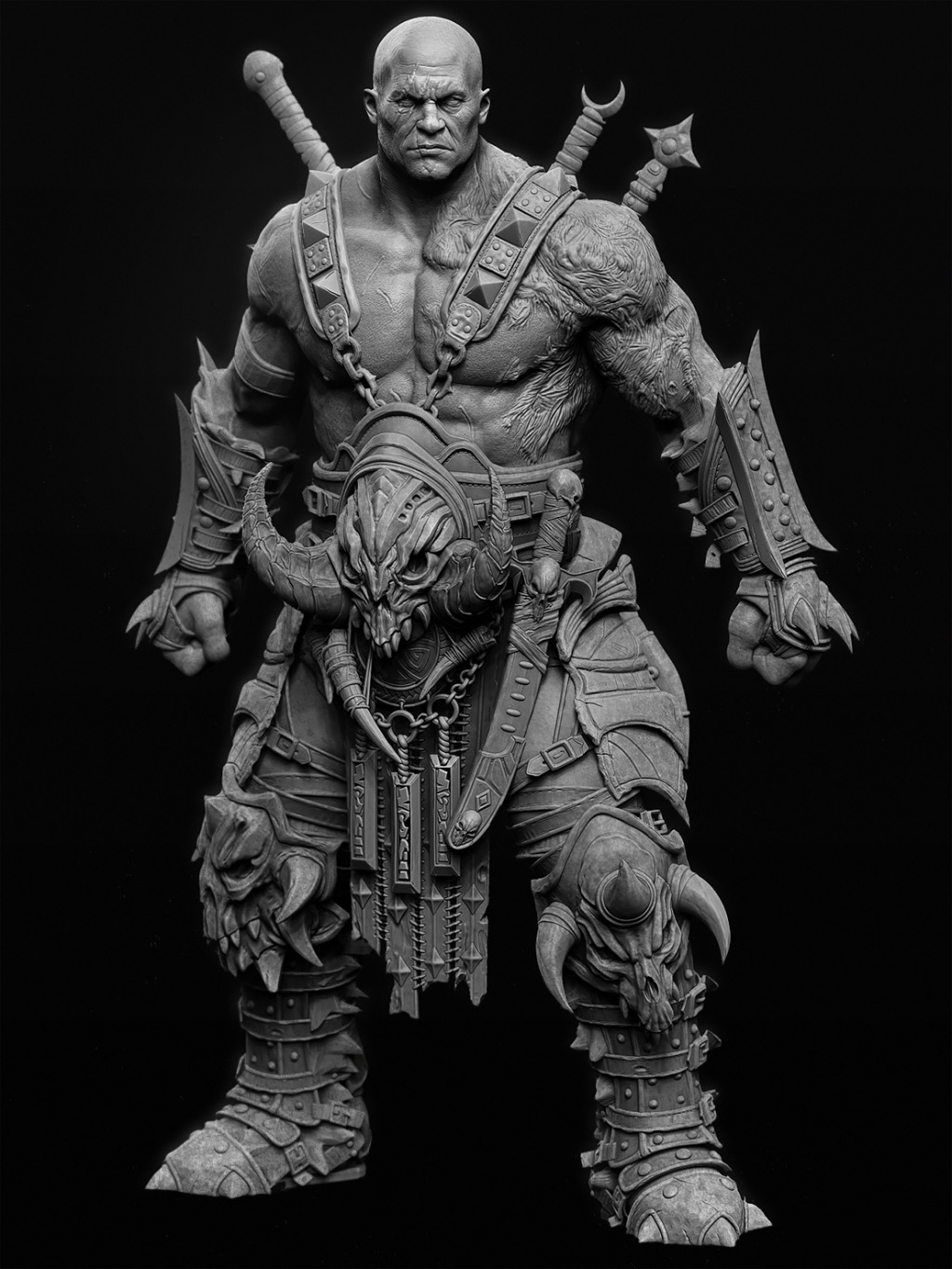 Barbarian for 3d sculpture artists